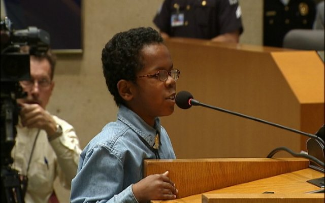11-Year-Old Boy Checks Dallas City Council Members On Rude
