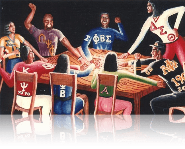 What are your thoughts on the Black Greek Letter Organizations