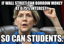 Sen. Elizabeth Warren wants student loans to get Fed discount rate