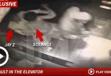 JayZ and Solange Fight In An Elevator As Beyonce Watched