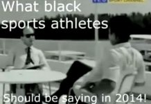 Muhammad Ali Says What Black Sports Athletes Should Be Saying in 2014