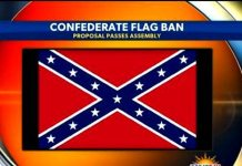 Confederate Flag Banned In California