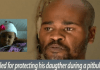 Shocking end for man who killed his pitbull that attacked his daughter