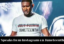 Usher Breaks Silence On Juneteenth Shirt: 'Know What You're Celebrating' 3