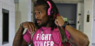 Honor Thy Mother: NFL Star DeAngelo Williams Pays for 53 Mammograms in Late Mother's Memory