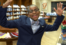 Moziah Bridges, 13 Year Old Bow Tie Entrepreneur, Named to TIME's 30 Most Influential Teens of 2015 List