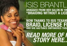 Isis Brantley: Multiple Arrests and Protest For 20 Years For The Right To Braid Hair Naturally, Now She Runs The Only Natural Hair Care School 3