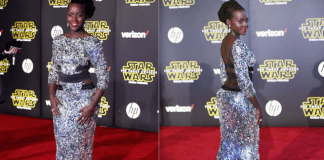 Lupita Nyong'o Steals the Red Carpet Show at Star Wars: The Force Awakens World Premier | #Slayed