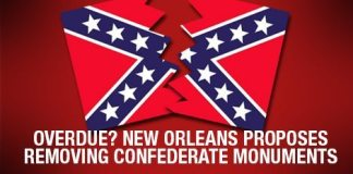 Overdue? New Orleans Proposes Removing Confederate Monuments