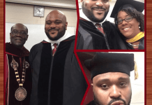 Ruben Studdard Receives Master Of Arts Degree From Alabama A&M University