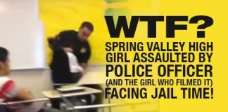WTF: Spring Valley High Girl Assaulted By Officer (And The Girl Who Filmed It) Facing Jail Time!
