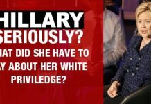 Here Goes Hillary Clinton  With That BullS#!T Again When Asked About Her White Privilege [VIDEO] 2