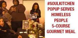 #SoulKitchen Popup Serves Homeless People 5-course Gourmet Meal {VIDEO}