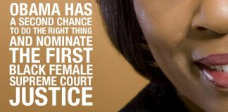 Obama Has A SECOND CHANCE to DO THE RIGHT THING And Nominate The First Black Female Supreme Court Justice.