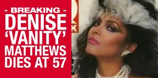 BREAKING: RIP Denise 'Vanity' Matthews, MC Hammer Confirms Singers Death At Just 57