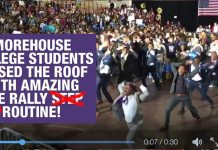 Morehouse College Students Are LIT with Amazing Pre-Rally Hop (Step) Routine by the Ques! [VIDEO] 2