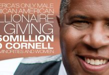 Robert F. Smith, USA's Only Black Male Billionaire, Gives $50M To Cornell for Minorities & Women
