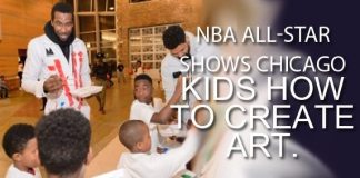 Miami Heat's Amar'e Stoudemire Teams With Chicago Kids To Teach The Arts