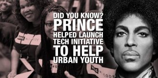 Did You Know? Prince Helped Launch Tech Initiative To Help African American Youth