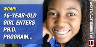 WOAH! 16-Year-Old Girl Enters Ph.D. Program AND ...