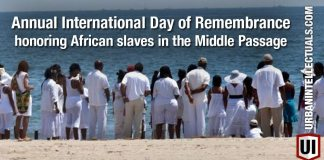 Did You Know? There Is An Annual Remembrance Honoring African Slaves In The Middle Passage 1