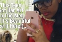 This Teen Got Her Art In The Met And It's Beautiful (See It Here!)... 2