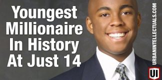 RESPECT:  The Youngest Ever Self Made Millionaire At 14! How Did This Inner City Kid Do It?