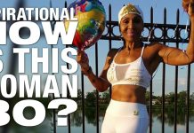 """INSPIRATIONAL: At 80 World's Oldest Female Body Builder Shows Us """"Age Is Nothing But a Number"""""""