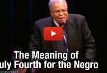 "WATCH: James Earl Jones ""The Meaning of July Fourth for the Negro"""