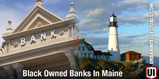 Black Owned Banks In Maine