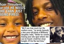 WTF: Police Officer Threatens Life Of 5-Year Old Girl On Facebook And Is ONLY Fired!