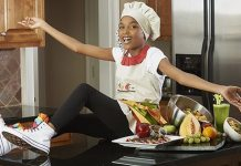 12 Years Old Natural Cook Shares Her Passion for Healthy Eating