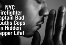 NYC Firefighter Captain Bad Mouths Cops In Hidden Rapper Life!