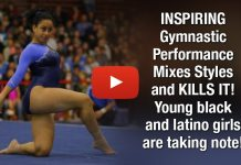 INSPIRING Gymnastic Performance Mixes Styles and KILLS IT! Young black and latino girls are taking note!