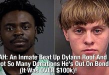 WHOA: An Inmate Beat Up Dylann Roof And He Got So Many Donations He's Out On Bond (IT Was OVER $100k)!