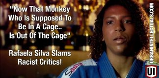 """WORD """"Now That Monkey Who Is Supposed To Be In A Cage.. Is Out Of The Cage"""" Rafaela Silva Slams Racist Critics!"""