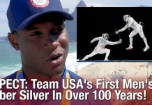 RESPECT: Team USA's First Men's Saber Silver In Over 100 Years!