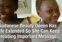 Sudanese Beauty Queen Has Title Extended So She Can Keep Spreading Important Message...