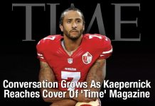 Conversation Grows As Kaepernick Reaches Cover Of 'Time' Magazine