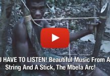 YOU HAVE TO LISTEN! Beautiful Music From A String And A Stick, The Mbela Arc!