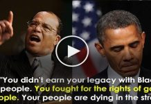 Farrakhan Calls Out President Obama On Not Fighting For Black People, But Passing Massive Legislation For Gay People