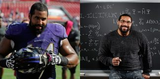 This Full-Time NFL Player Scores Four As in His First Semester of MIT's Math PhD Program