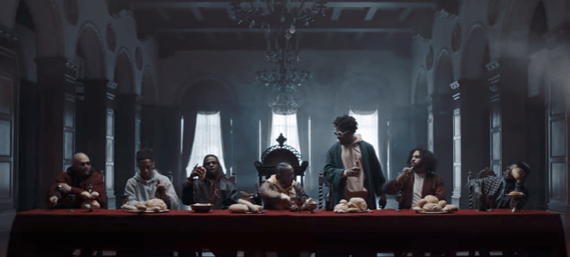 Black Dot Wallpaper Video K Dot Made The Last Supper Black With Surprise