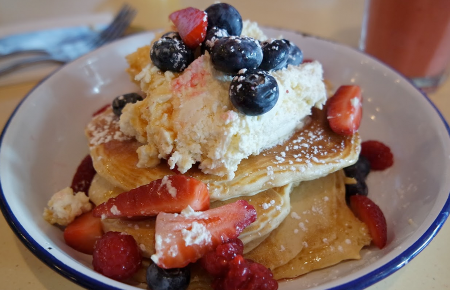 Oh, the pancakes...