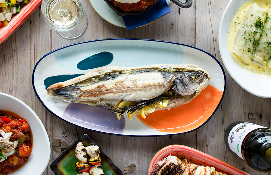The Real Greek launches seafood Aegean Kitchen concept this