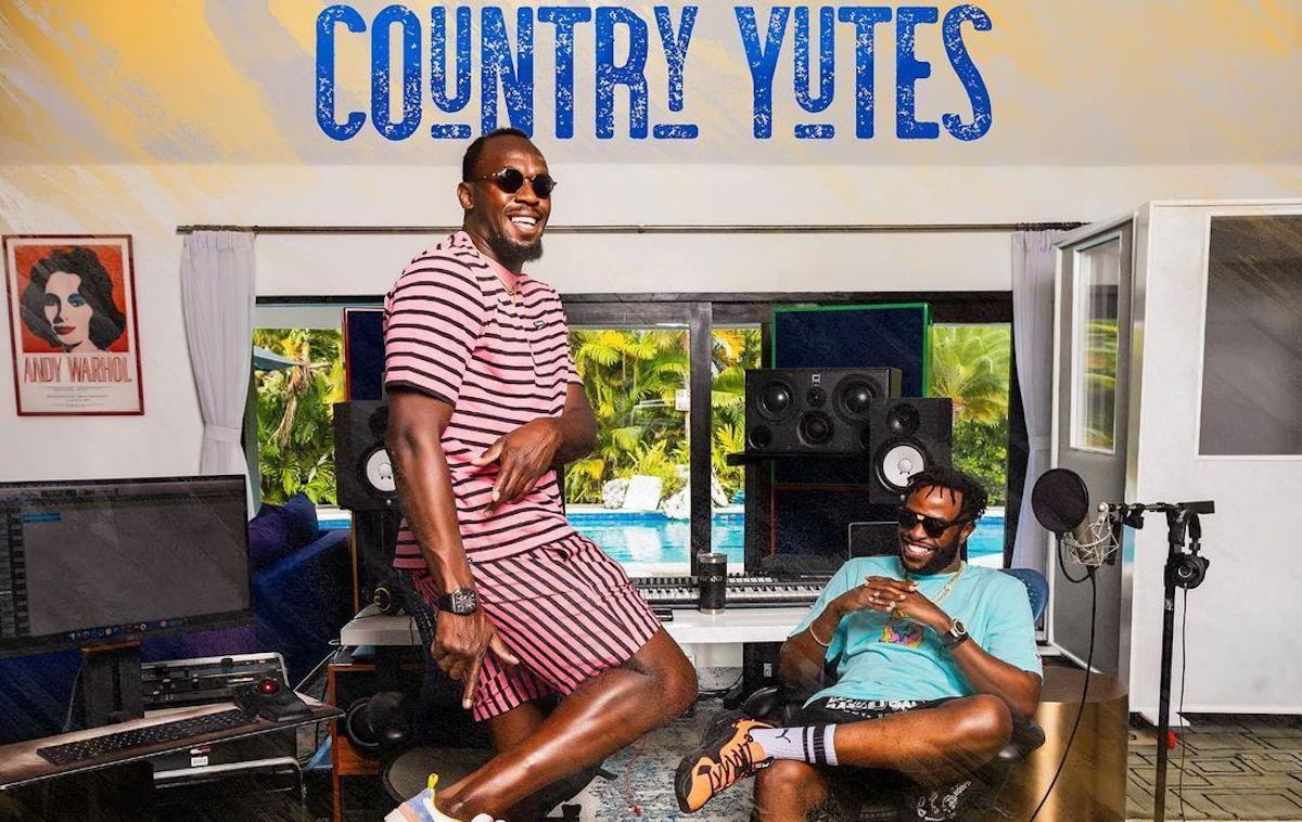 """Usain Bolt & NJ annonce la sortie de son premier album """"Country Yutes"""" en septembre 2"""