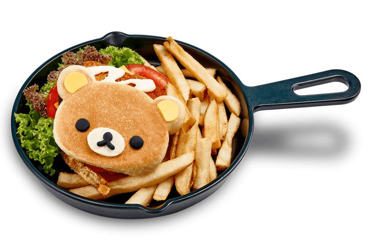 Rest-o-licious Rilakkuma Ebi Burger, $26.90