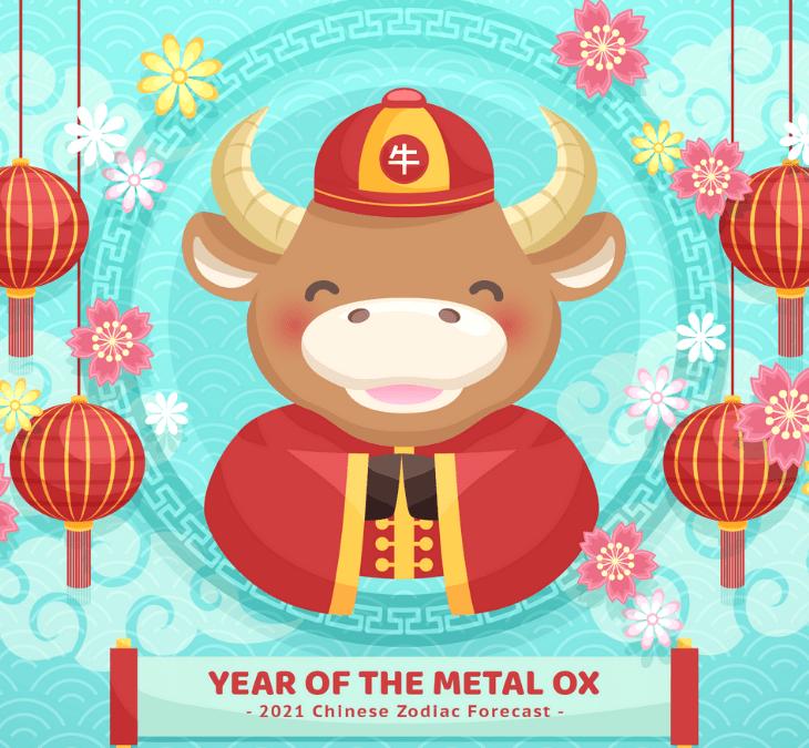 2021 Chinese Zodiac Urban Ladies