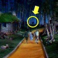 The Wizard of Oz Hanging Munchkin Scene