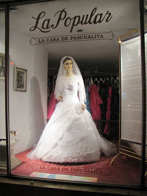 48a791f94e8a According to a local urban legend, people say the mannequin in the window  of the bridal gown store is really the embalmed body of the former store  owner's ...